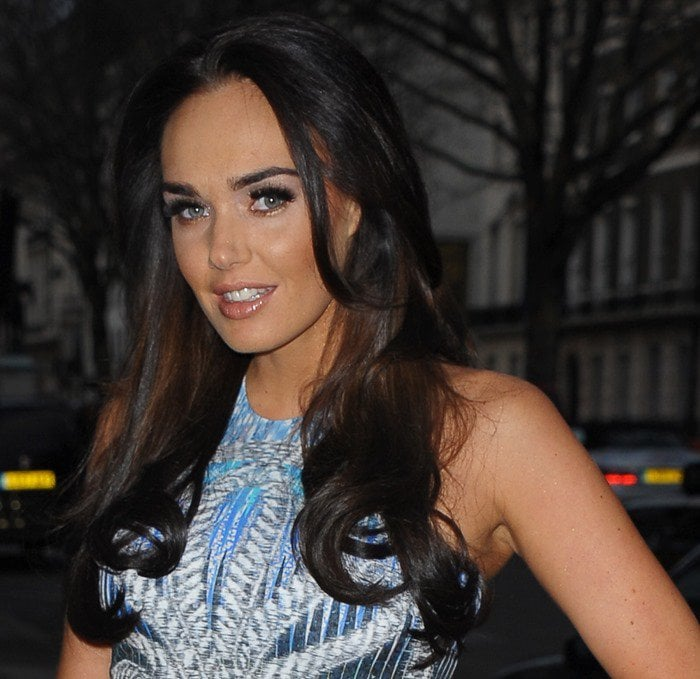 Tamara Ecclestone attends the Elizabeth Arden 'Eight Hour Cream' party in London on March 8, 2012