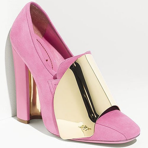 ysl pink shoes