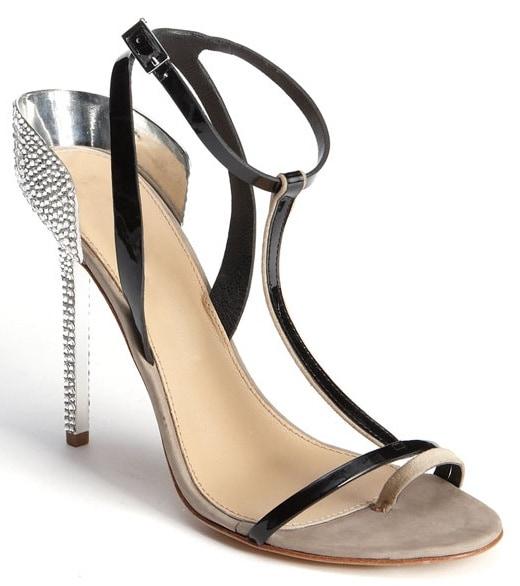 Diane von Furstenberg 'Rafiya' T Strap Sandals