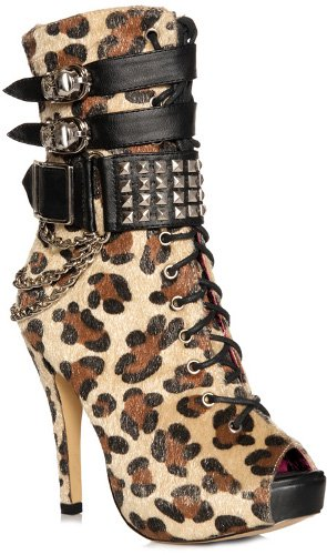 Abbey Dawn 'MFP' Boots in Leopard