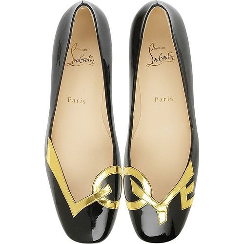 Christian Louboutin 'Love' flat shoes