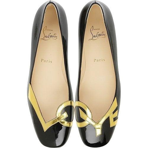 Christian Louboutin 'Love' flat shoes