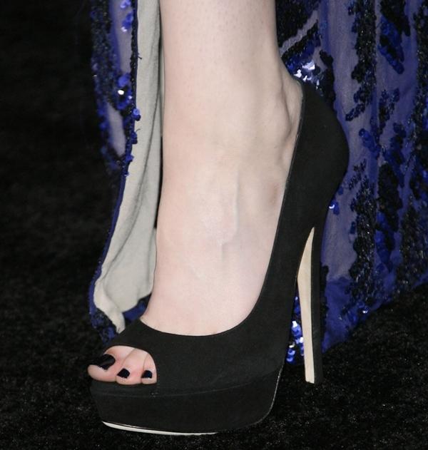 Kristen Stewart wearing Jimmy Choo's 'Vibe' pumps