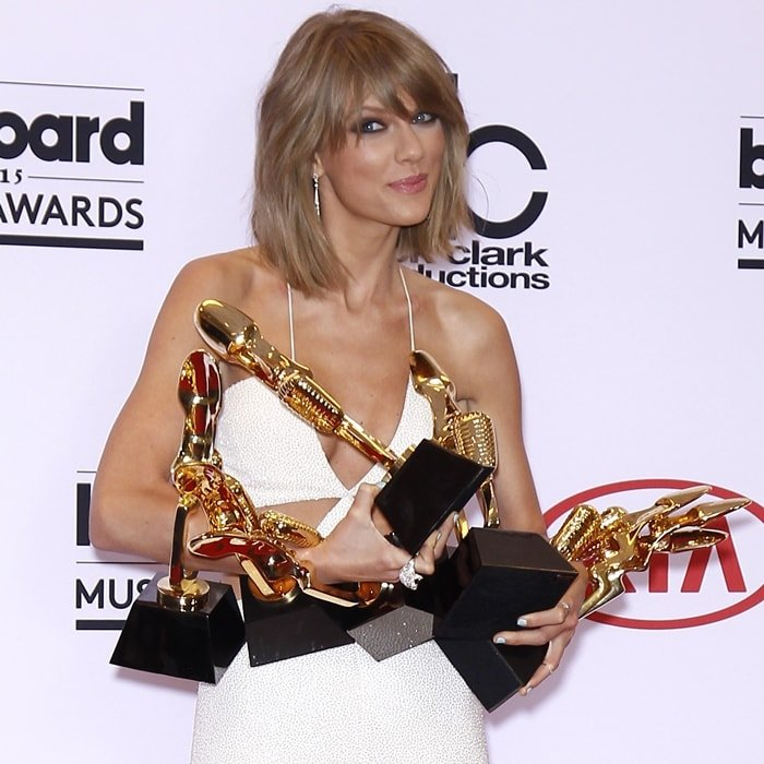 Taylor Swift released the highly-anticipated video for Bad Blood (Remix) and took home eight prizes at the 2015 Billboard Music Awards