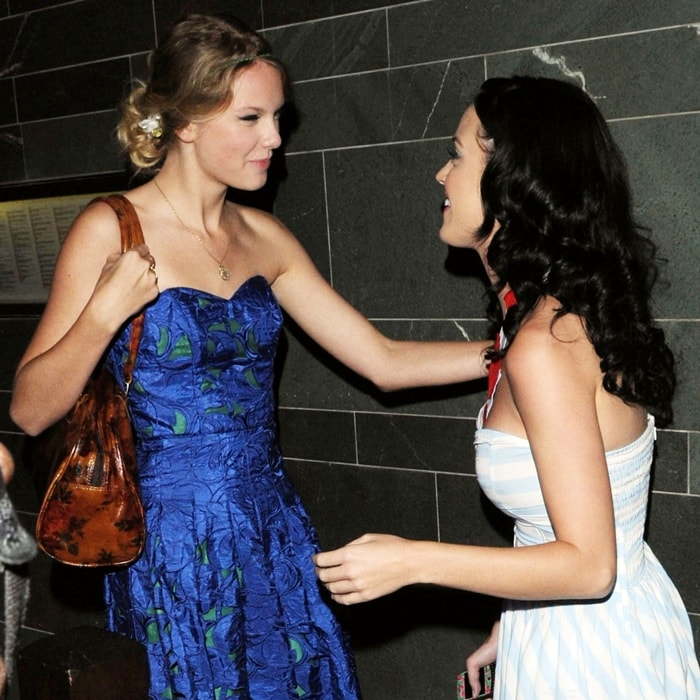 Katy Perry and Taylor Swift were on friendly terms until 2013