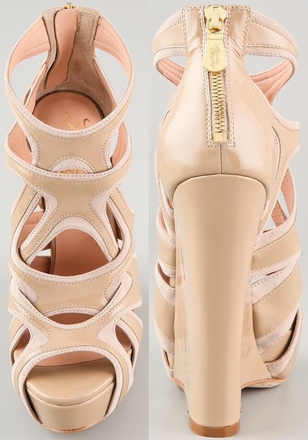 Alejandro Ingelmo Spider Wedge Sandals