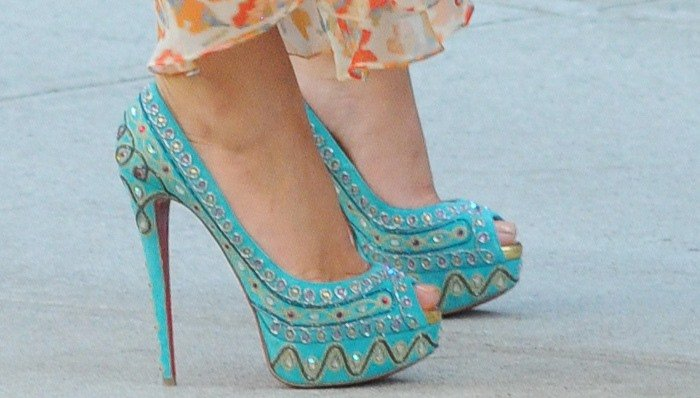 Image result for christian louboutins gossip girl