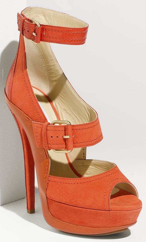 Jimmy Choo Letitia Buckle Sandal