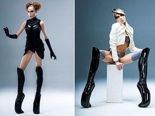 Alien-inspired Kronier Creations platform boots