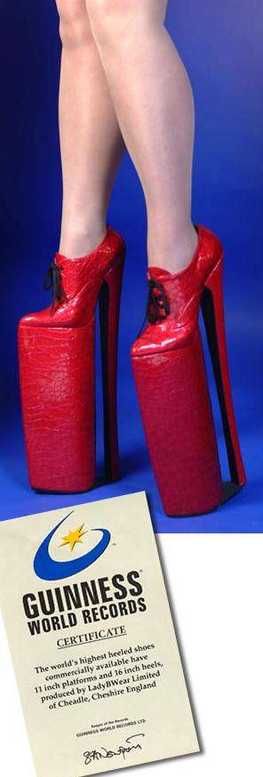 2a78683c5f8 Highest Heels in the World - 5 Tallest Shoes of All Time