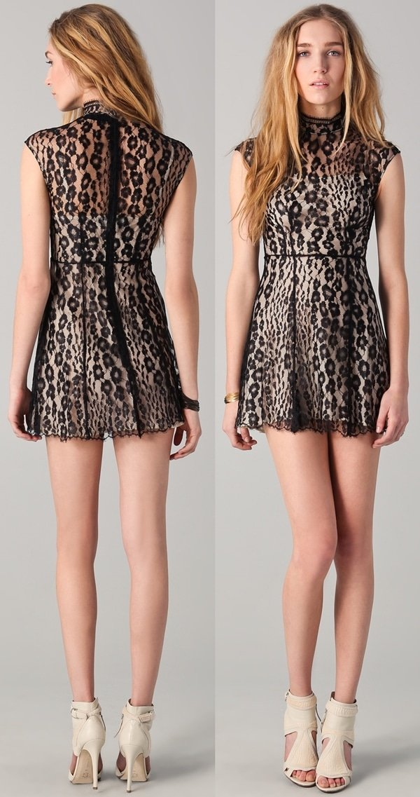 Lover Labyrinth Mini Dress