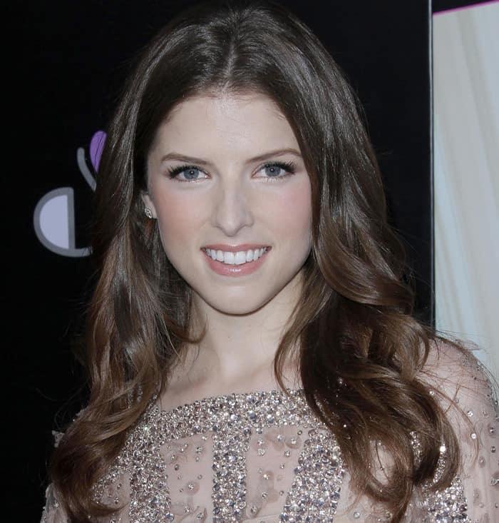 Anna Kendrick attends the Los Angeles premiere of 'What To Expect When You're Expecting'