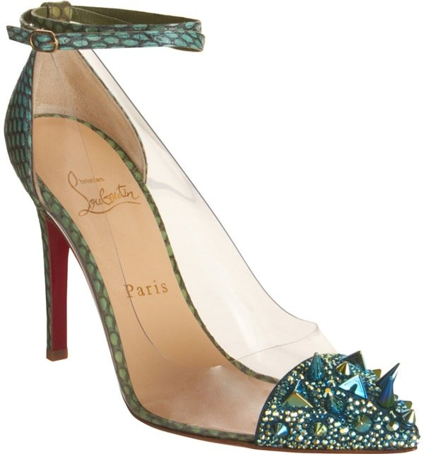 Christian Louboutin 'Just Picks' in Exotic Green