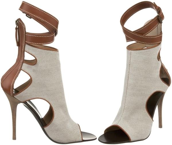 Giuseppe Zanotti Women's Open-Toe Ankle Boots