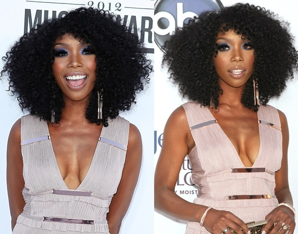 Brandy attends the 2012 Billboard Music Awards
