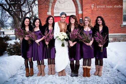 a72924f1dc The New Bridal Ugg Boots are Actually Kind of... Cute