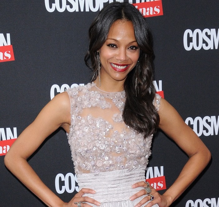 Zoe Saldana earned just $100,000 for her role in Guardians of the Galaxy