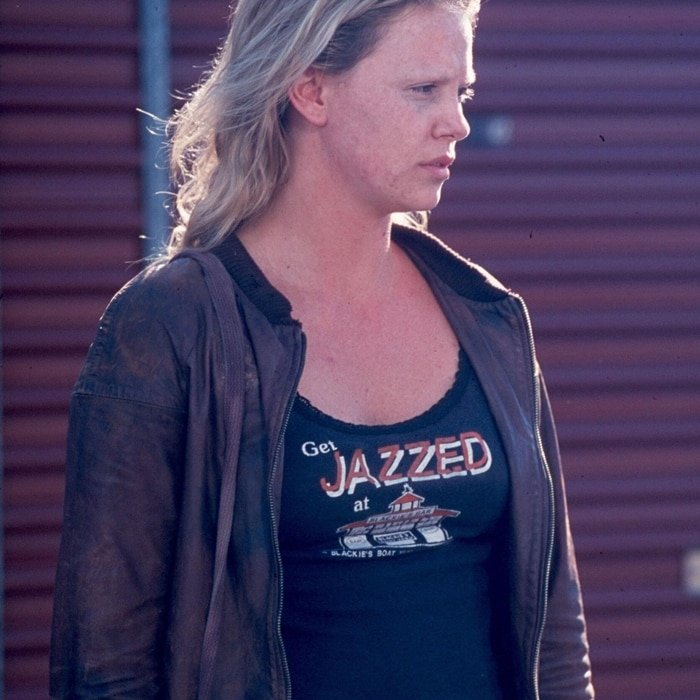 Charlize Theron put on 30 pounds of weight for her role as Aileen Wuornos