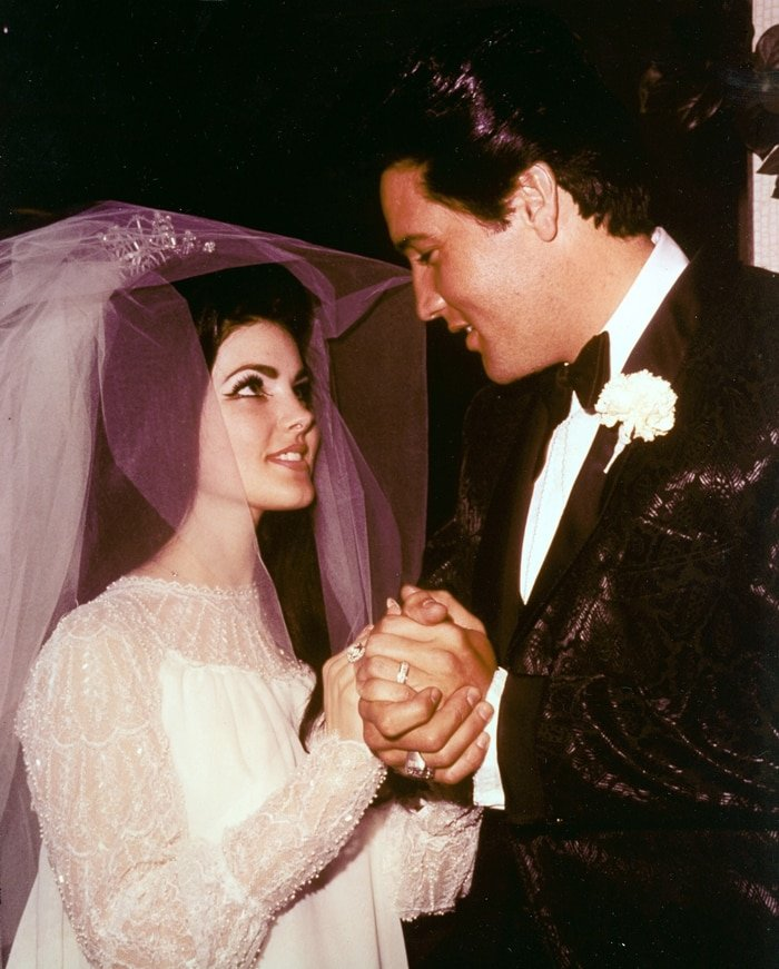 Elvis Presley and Priscilla Beaulieu married on May 1, 1967, in Las Vegas, Nevada