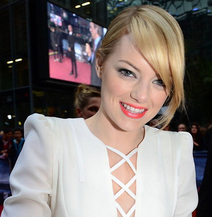 """Emma Stone attends the German premiere of """"The Amazing Spider-Man"""""""