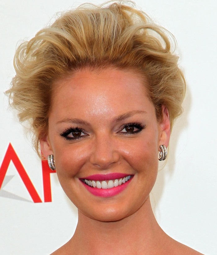 Actress Katherine Heigl attends the 40th AFI Life Achievement Awards honoring Shirley MacLaine