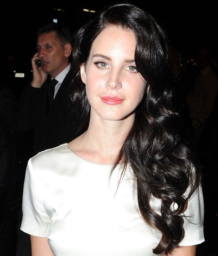 Lana Del Rey at the GQ Men of the Year Awards 2012