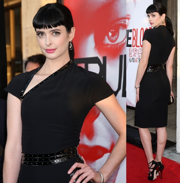 Krysten Ritter at the HBO's 'True Blood' Season 5 Premiere held at the ArcLight Cinemas Cinerama Dome, Los Angeles, USA, on May 30, 2012