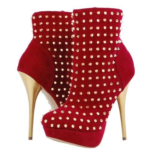 Alba Kimmi Studded Ankle Boots