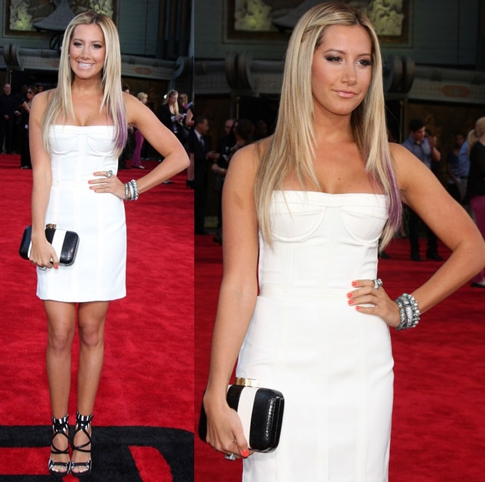 "Ashley Tisdale attends the premiere of ""Step Up Revolution"" at Grauman's Chinese Theatre in Hollywood, California on July 17, 2012"