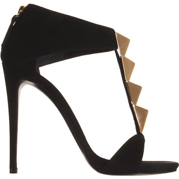 Giuseppe Zanotti Pyramid Studded T Strap Sandal Side