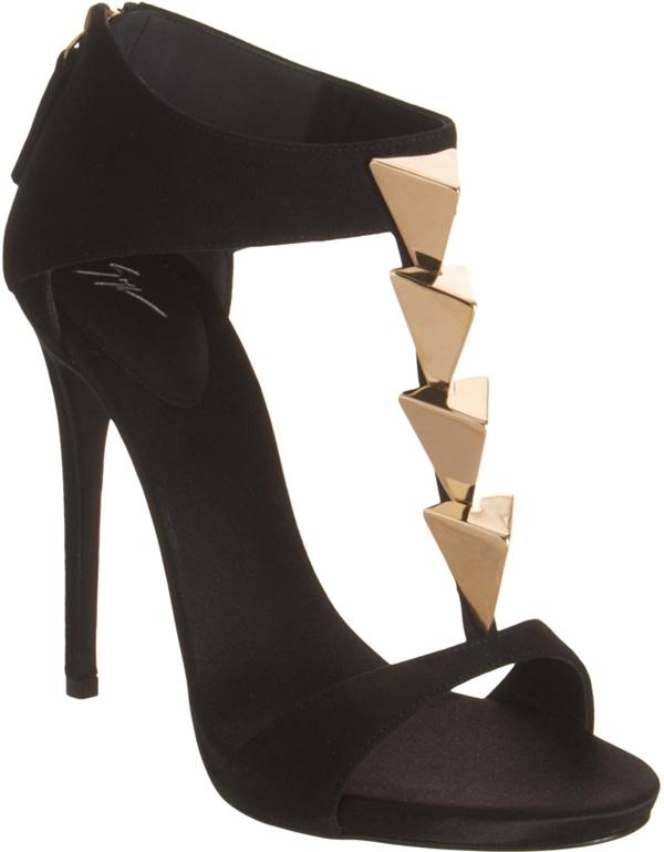 Giuseppe Zanotti Pyramid Studded T Strap Sandal