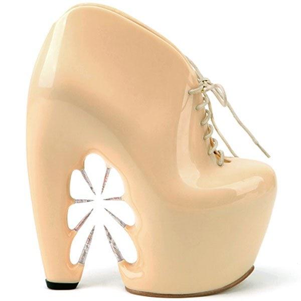 Iris Van Herpen X United Nude Thorn shoes