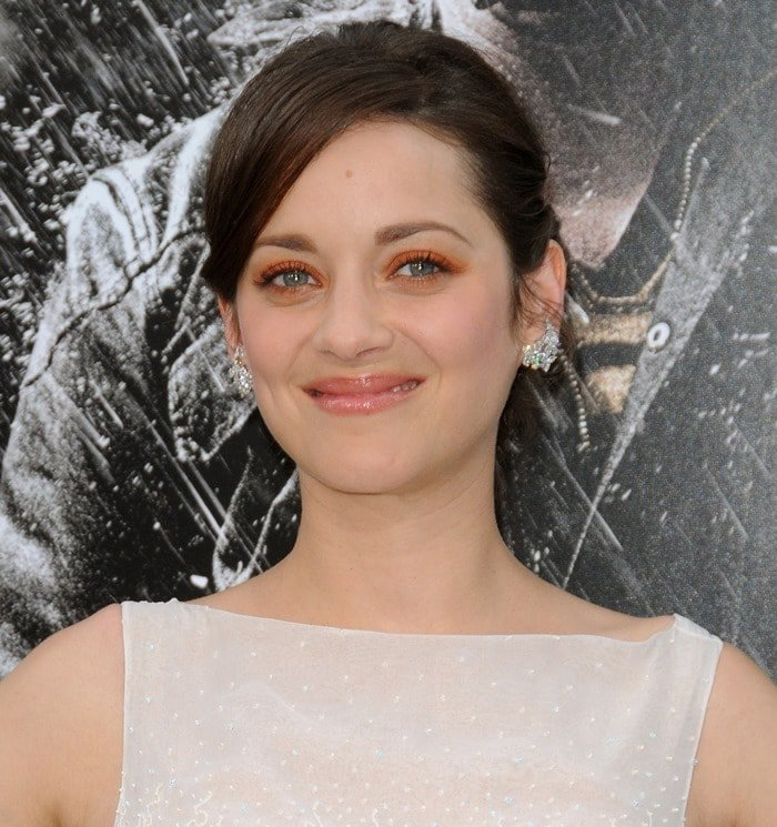 Marion Cotillard at the 'The Dark Knight Rises' New York Premiere at AMC Lincoln Square Theater in New York City on July 16, 2012