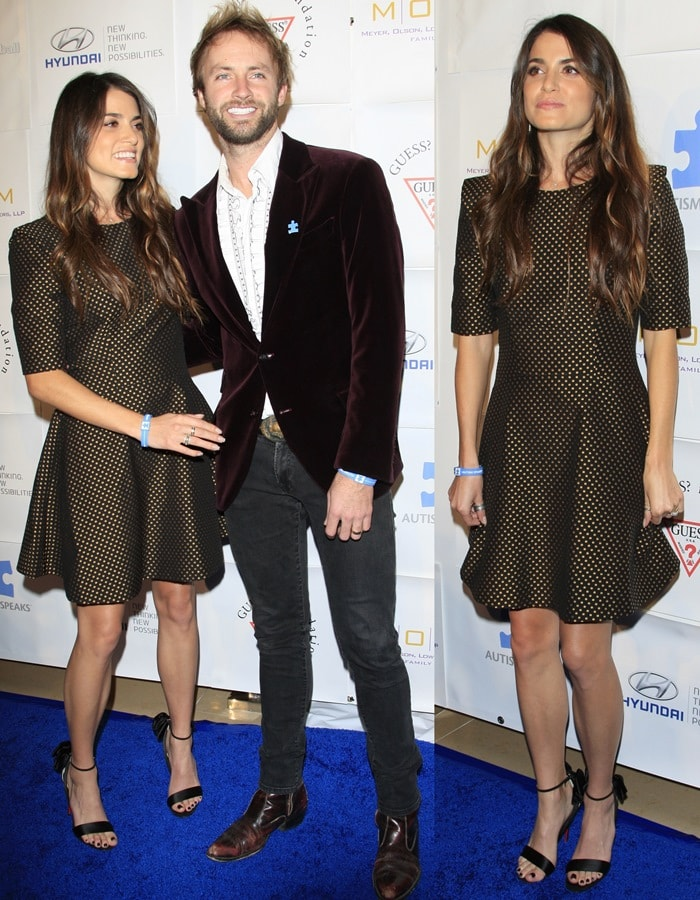 Paul McDonald and Nikki Reed at the Autism Speaks 'Blue Tie - Blue Jean Ball'