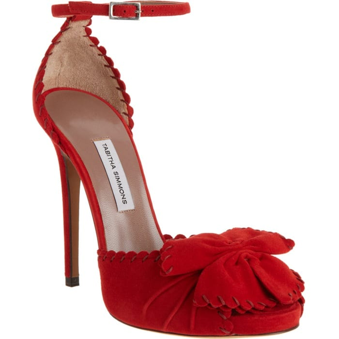 Tabitha Simmons Red Ruby