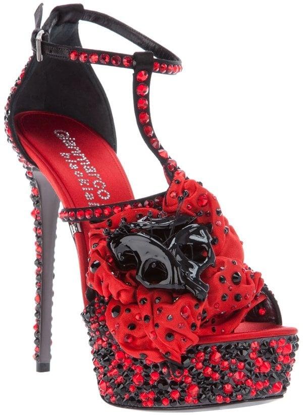 Gianmarco Lorenzi High Heel Sandal Red