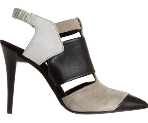 Narciso Rodriguez Colorblock Pointed Toe Shoe Boots