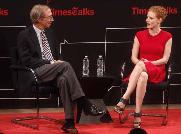Charles McGrath and Jessica Chastain