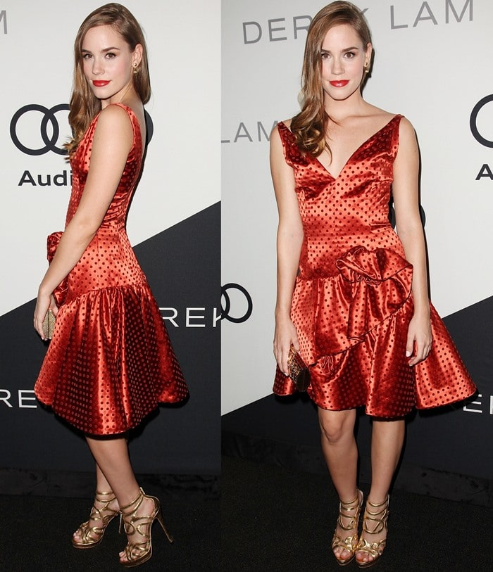 Christa B. Allen at the Audi 2012 Emmy Awards Party