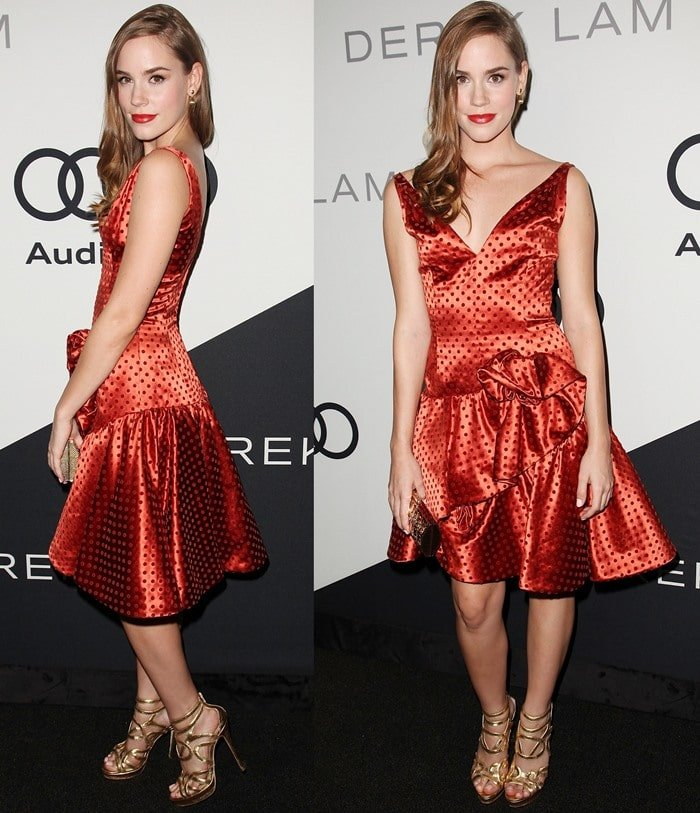 Christa B. Allen at the Audi 2012 Emmy Awards Party held at Cecconi's Restaurant in West Hollywood on September 16, 2012