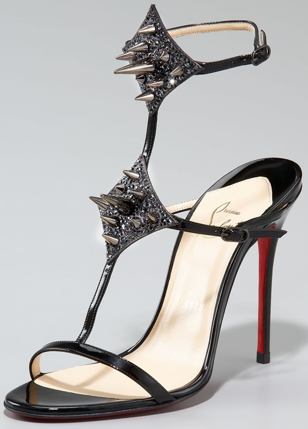 Christian Louboutin Lady Max Spike in Black