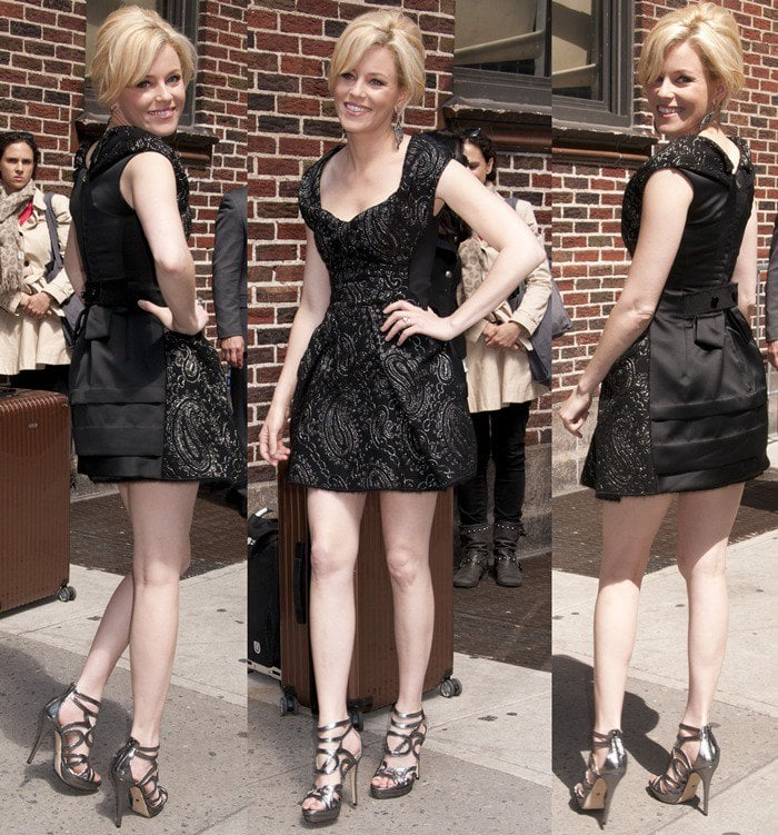 Elizabeth Banks in Marc Jacobs Fall 2012 Collection dress