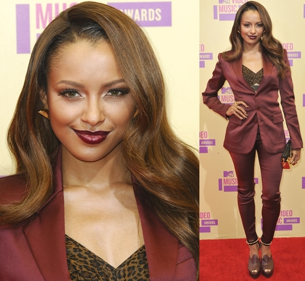 Katerina Graham at the 2012 MTV Video Music Awards held at the Staples Center in Los Angeles on September 6, 2012