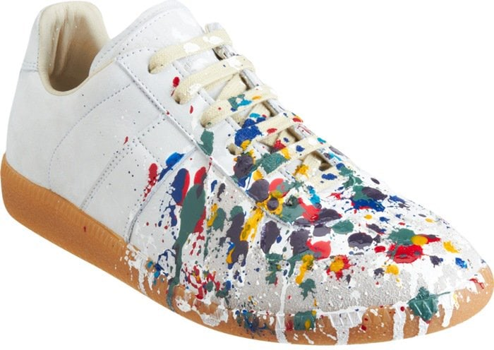 Maison Martin Margiela Exclusively Ours Paint Splatter Low Top