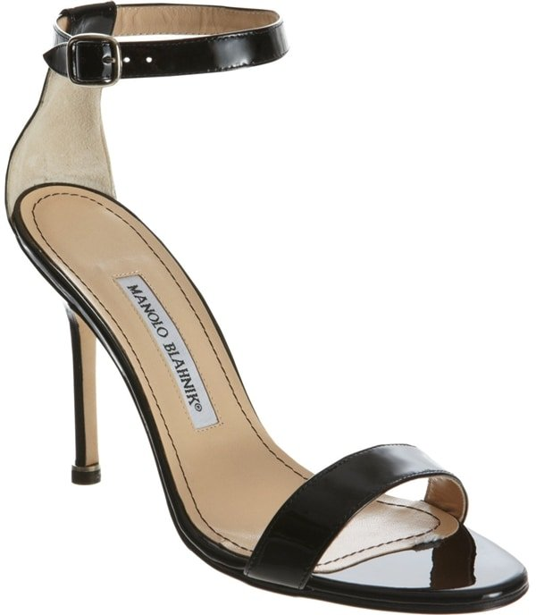 Manolo Blahnik Chaos in Black