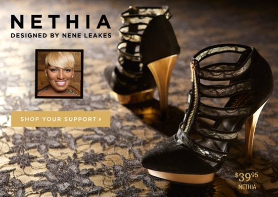 The proceeds from Nene Leakes' shoes will be donated to Saving Our Daughters