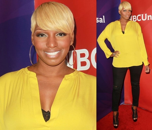 NeNe Leakes at the NBC Universal Press Tour at Beverly Hilton Hotel in Beverly Hills on July 24, 2012