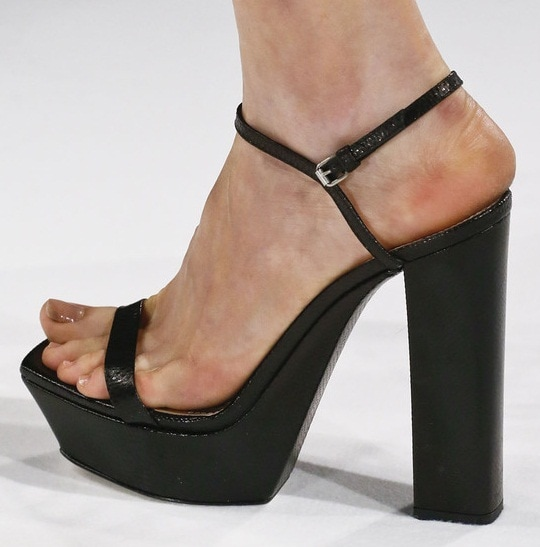 Shoes from the Calvin Klein Spring 2013 Ready to Wear Collection