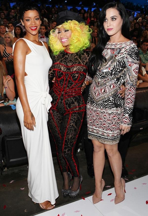 Rihanna, Nicki Minaj, Katy Perry