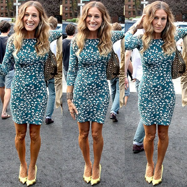 41f20f43117 Sarah Jessica Parker was one of the celebrity attendees at the Diane Von  Furstenberg Spring